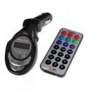 Samochodowy transmiter FM (pilot, karta SD-MMC, USB, JACK)