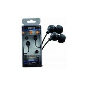 Słuchawki stereo AZUSA douszne, czarne, jack 2.5mm